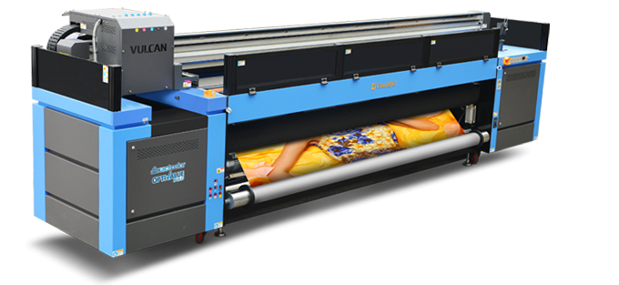 vulcan 3201 roll to roll 3.2 M UV LED Inkjet printer