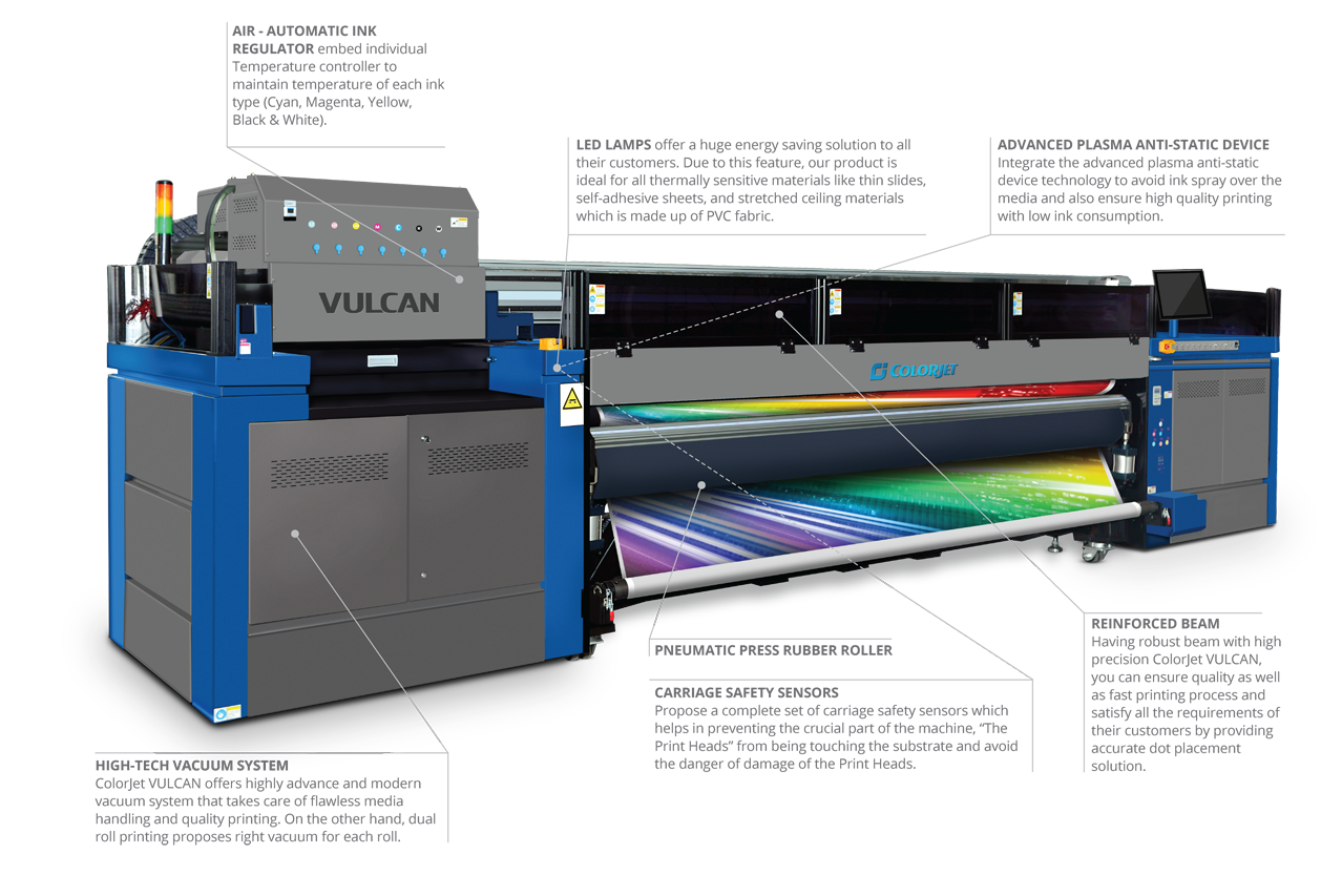 Vulcan (UV Roll to Roll)
