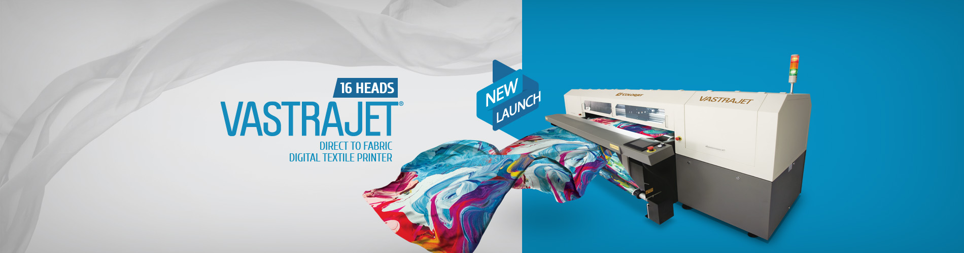 New Launch 16 Head Digital Textile Printer