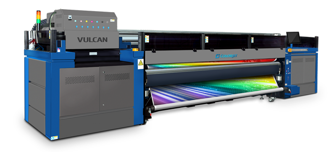 vulcan roll to roll 3.2 M UV LED Inkjet printer