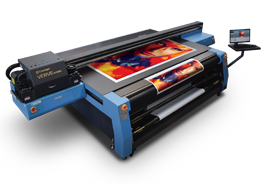 UV FLATBED ROLL TO ROLL PRINTER